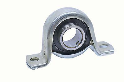 "1-1//8/""  bore  SBRPP206-18 Stamped Steel Rubber Mounted Pillow Block w//set screw"