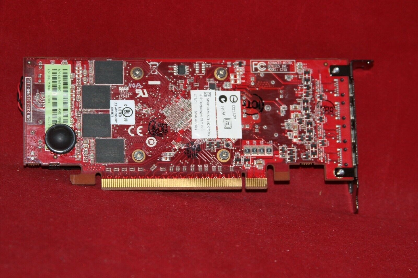 AMDFirePro W5100 Quad-Port Graphics Card 4GB GDDR5128-bit