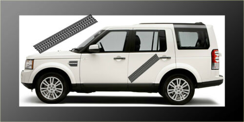 2 M Pneu Pistes De Roulement 4x4 Stickers Decals Graphic Off Road Jeep Land Rover VITARA