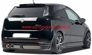 Spoiler-sotto-paraurti-Posteriore-Fiat-Grande-Punto-per-paraurti-di-serie