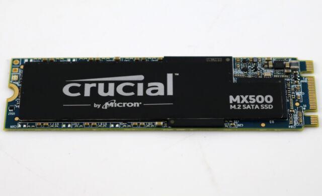 Crucial MX500 CT250MX500SSD4 250GB Internes SSD (3D NAND, SATA, M.2 Type 2280SS)