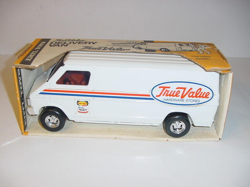 Vintage 1 16 ERTL True Value Hardware Stores Delivery Van W Box