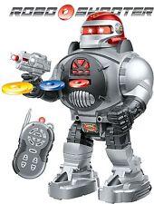 RC Robot roboshooter TELECOMANDO robot -- incendi DISCHI / Balli / colloqui nel Regno Unito di vendere