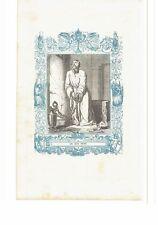 1852 Grabado, San Lucio Obispo