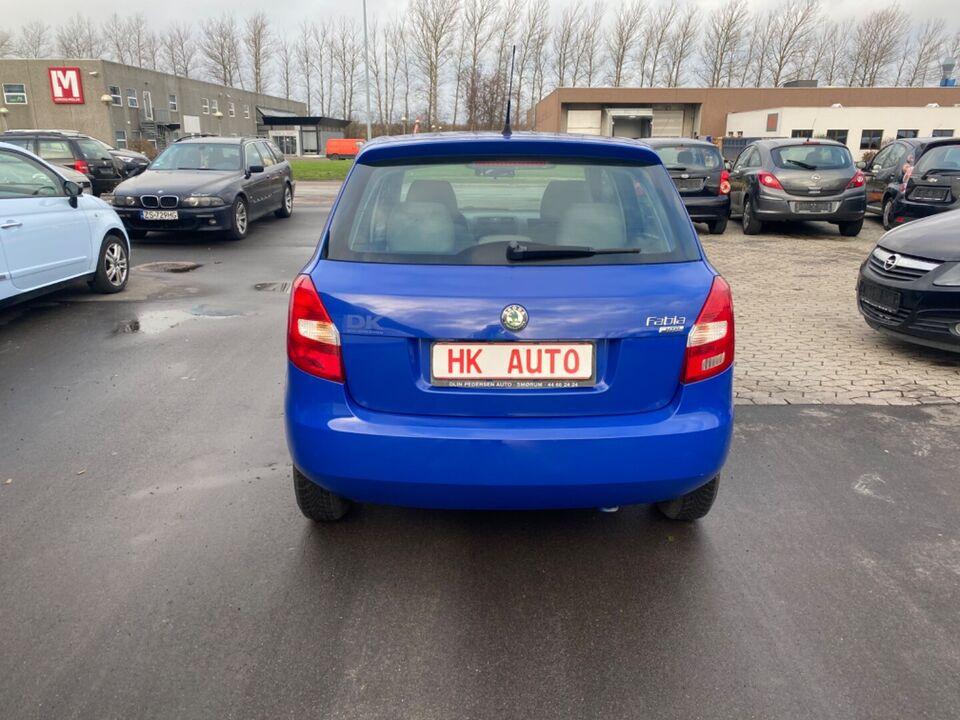 Skoda Fabia 1,2 12V Comfort Benzin modelår 2007 km 173000