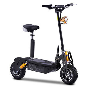 7bf7c7c8f Chaos 48 Volt 1000W Electric Scooter Big Wheel Powerboard ...