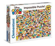 Clementoni 39363 Impossible Tsum Tsum 1000 Pieces High Quality Jigsaw Puzzle