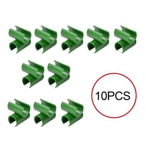 50X Plant Trellis Connector Clip Garden Adjustable Plant Connector Stake Clips