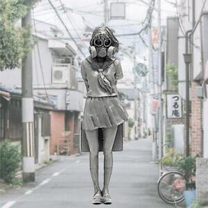 1-35-Japanese-Schoolgirl-Resin-Soldier-Model-Delicate-Body-White-Mold