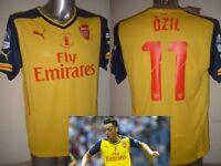 Arsenal Puma FA CUP OZIL RAMSEY ALEXIS WALCOTT BNWT S M L XL Soccer Shirt Jersey