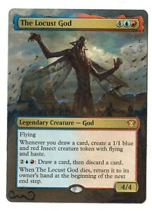The-Locust-God-Altered-Full-Art-MTG-Magic-Commander-2020-EDH-Gift-Birthday-Pimp