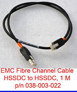 Emc 038-003-022 Hssdc To Hssdc Fibre Channel Cable Fc Câble Emc² Câble Réseau-afficher Le Titre D'origine