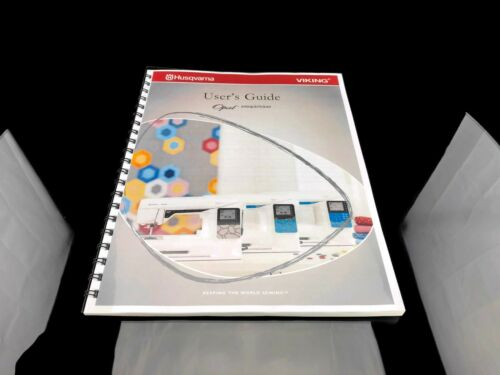 Husqvarna Viking Opal 650 670 690Q Sewing Machine User Guide Owners Manual