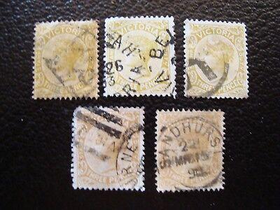 - Briefmarke Yvert/tellier Nr australien Dauerhaft Im Einsatz a16 86 X5 Gestempelt Victoria