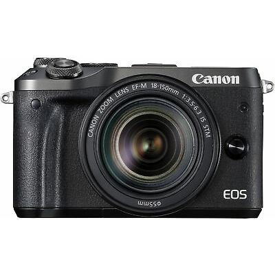 Canon New EOS M6 Super Kit