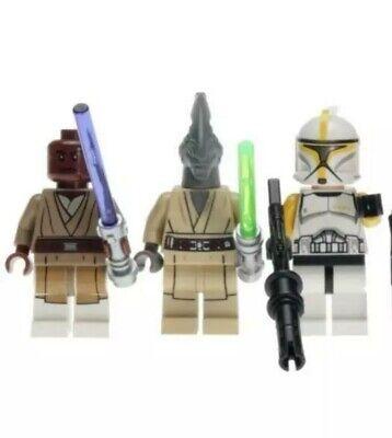 LEGO Star Wars Yellow Clone Trooper Commander Minifigure 75019 sw0481