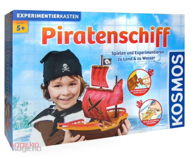 Kosmos Bateau de Pirates Boîte à Expériences Expériences Bateau Apprendre Eau