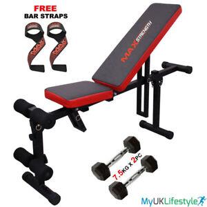 FLY-Panca-Addominali-Petto-Manubri-Peso-Fitness-per-esercizi-da-palestra-stampa-PANCHE-Allenamento