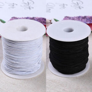 100m 1mm Stretchy Elastic Beading Thread Cord Bracelet String For Jewelry Making Ebay