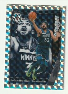 2019-20-Panini-Mosaic-Prizm-Silver-Karl-Anthony-Towns-Swagger-Hobby-SSP