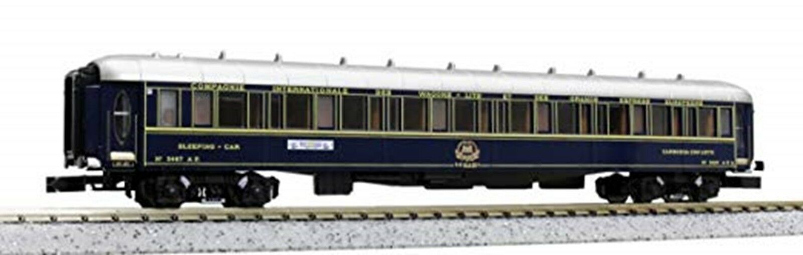 Kato 10-562 Orient Express '88 Passenger Coche 6-Coche Add-On Set JAPAN USED