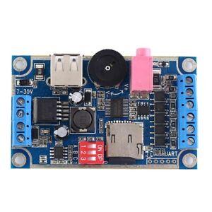 WAV-MP3-Sprachmodul-3W-Sound-Player-Programmierbare-Steuerung-Unterstuetzung-TF