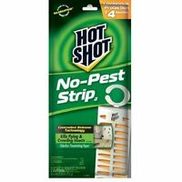 Hot Shot No Pest Strip Unscented Hanging Vapor Insect Repellent, Up To 4 Months