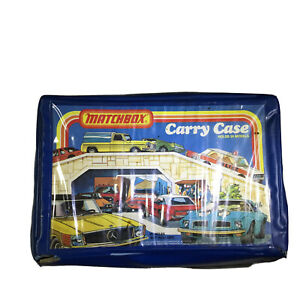 Vintage-Matchbox-Collector-039-s-Carry-Case-Holds-24-MatchboxCars-1978