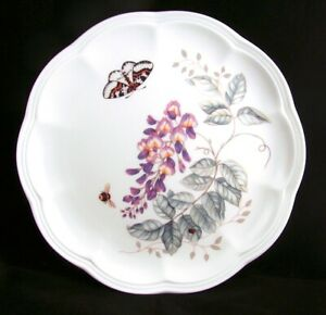 Lenox-BUTTERFLY-MEADOW-034-Eastern-Tailed-Blue-034-Accent-Luncheon-Plate-NEW-READ