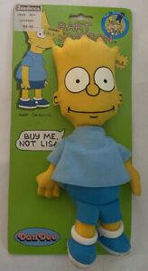 Vintage 1990 Dan Dee The Simpsons Bart Simpson Collectible Rag Doll