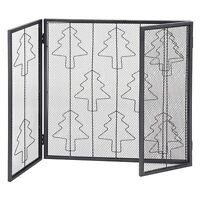 W 3 Panels Folding Steel Fireplace Screen Fire Place Door Fence Living Room Kids