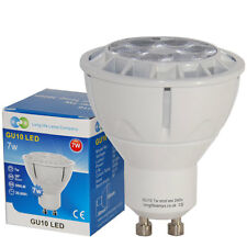 7W GU10 Dimmable LED Light Bulb Warm White Spotlight Downlight replaces Halogen