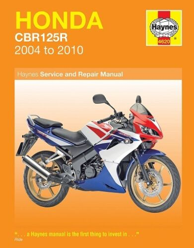 Honda CBR125 CBR125R CBR125RW 2004-2010 Haynes Manual NEW 4620 ...