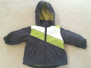 Toddler-boys-size-18-months-3-in-1-Interchange-coat-Childrens-Place-gray-green