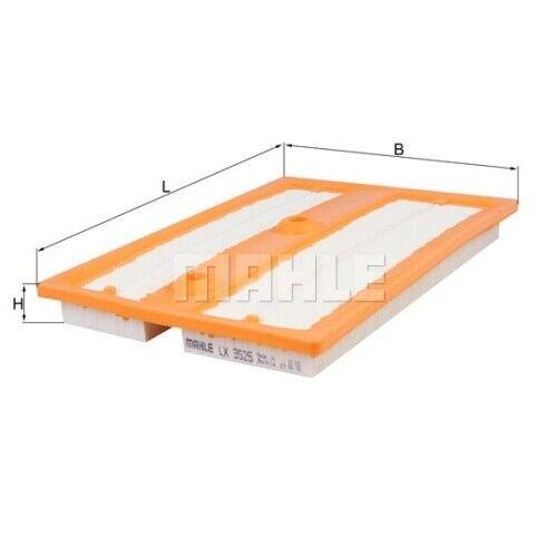 1 filtro aire mahle LX 3525 adecuado para AUDI VAG Cupra