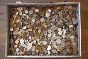 LOT-OF-400-OLD-EUROPE-COINS-UNTIL-1950-COLLECTIBLE-CURRENCY-FROM-19-20-CENTURY