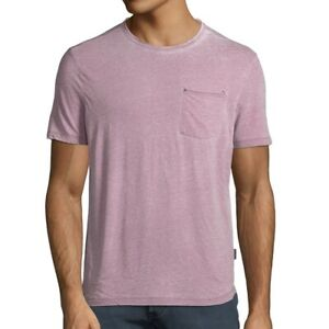 John-Varvatos-Star-USA-Men-039-s-Short-Sleeve-Crew-Burnout-Pocket-T-Shirt-Mauvewood