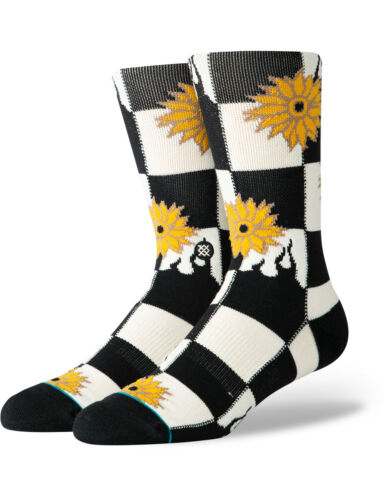 Stance Sunblaze Crew Socks in Black