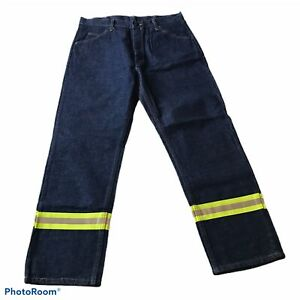 Bulwark Fr Ropa Protectora Resistente Al Fuego Alta Visibilidad Pantalones De Jeans 35 30 Ebay