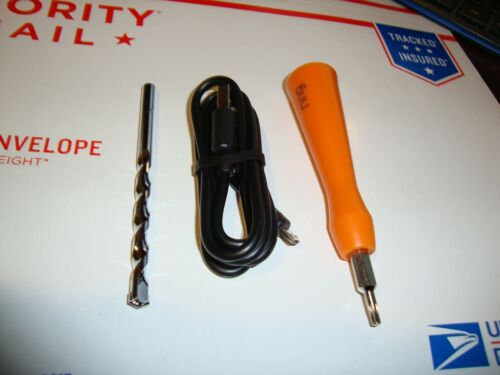 Ring Video Doorbell 1 Kit Screwdriver Tool Charger Cable Bit PARTS !