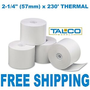 """2-1//4/"""" x 230/' THERMAL CASH REGISTER PAPER 20 ROLLS ~FREE PRIORITY SHIPPING~"""
