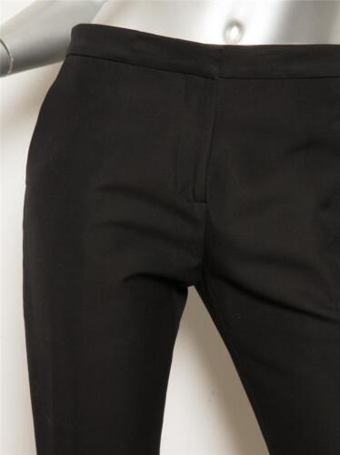 4 Donna Da Nero Filato Pantaloni Sottile Nuovo Eleganti Gamba Marni 40 Zucchero zqgxT