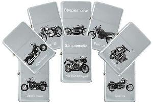 sturmfeuerzeug mit echter gravur motorrad modelle marke kawasaki feuerzeug ebay
