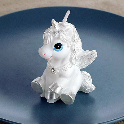 Unicorn Horse Kids Happy Birthday Candle Party Cake Topper Decoration Candles