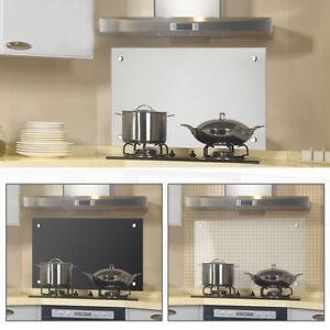 Glasscheibe Glas Küchenrückwand Fliesenspiegel Spritzschutz Herd ...