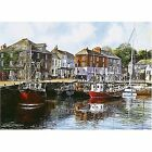 Gibsons Jigsaw Puzzle Padstow Harbour 1000pc by Terry Harrison G476