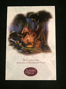 """WDCC Disney Post Card 4"""" x 6"""" Enchanted Places - Woodcutter's Cottage"""