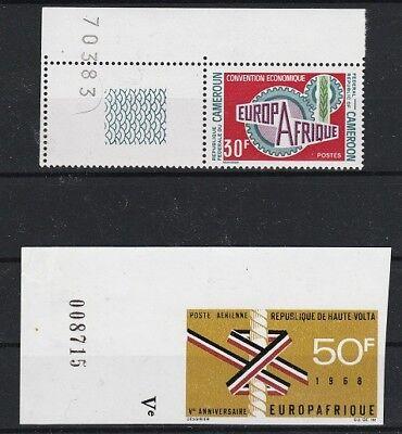 Burkina Faso Minr 244 ** Briefmarken Begeistert V4850 Kamerun Minr 633 **