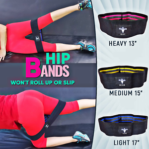 Resistance Hip Circle Bands Premium Exercise Glutes Bands For Booty Thighs Legs