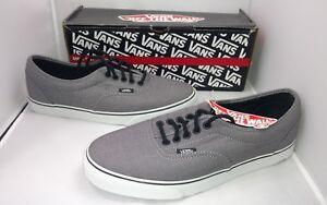 01c66224ab Vans Skate Surf Classic Low Top Gray White Black Casual Shoes Men s ...